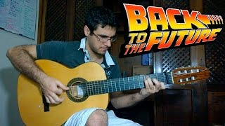 Back to the Future theme - Fingerstyle Guitar (Marcos Kaiser) #30