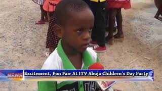 Excitement, Fun Fair At ITV Abuja Children's Day Party