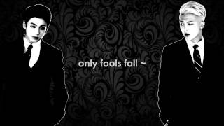 Fools [ Karaoke sing with Namjoon & Jungkook]
