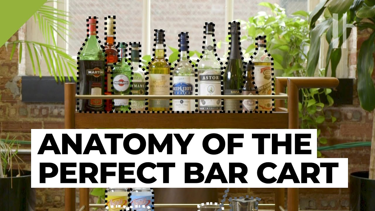 The Anatomy Of A Perfect Bar Cart