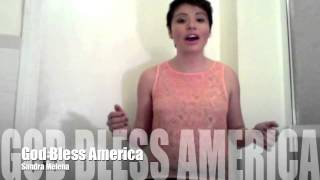 I Love You Boston! God Bless America Performed By Sandra Melena