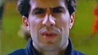 Anuncio Nike 1997-1998 con De La Peña, Kiko y Figo