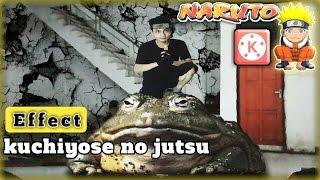 Effect kuchiyose no jutsu NARUTO | KINEMASTER