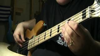 U2 I Will Follow Bass Cover
