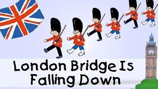 London Bridge Is Falling Down - englische Kindergarten Lieder || Kinderlieder