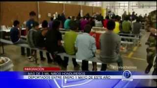 Más de 3 mil niños hondureños fueron deportados entre Enero y Mayo de este año