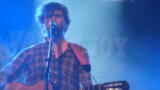 Vance Joy 'Best That I Can' live @ Grünspan Hamburg 12/10/14