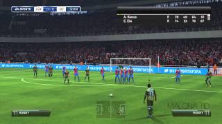 FIFA 14: Ronny and his Left Footed Bazooka!  (Read Description)