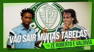 Zé Roberto elogia magia de Valdivia e prevê muitas tabelas em 2015