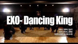 EXO(엑소) - Dancing king(댄싱킹)안무 DANCE COVER ㅣ할로윈 버스킹공연 리허설  댄스조아댄스학원