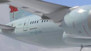 New inflight boarding music of Air Canada in 787 dreamliner (born to fly)