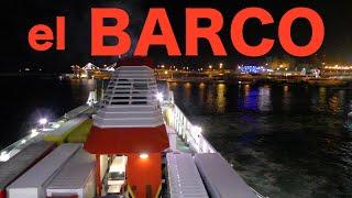 """【Full HD】El Barco """"TRASMEDITERRANEA"""" por la Noche  R¡i¡ / España"""