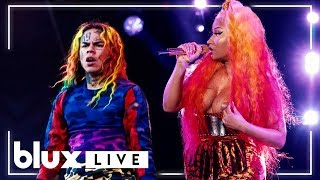 "6ix9ine & Nicki Minaj - ""FEFE"" (Live at Made In America 18')"