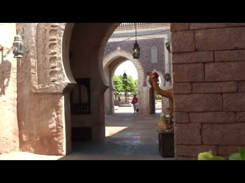 Morocco Pavilion in Disney's Epcot Center HD