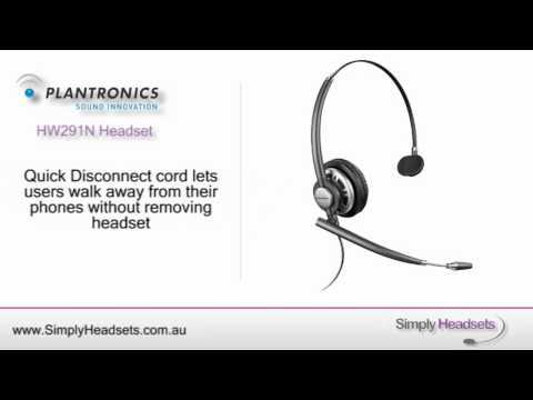 Plantronics Encorepro Hw301n User Manual