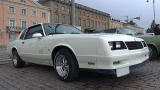 1987 Chevrolet Monte Carlo SS - wheel spin and V8 sound!