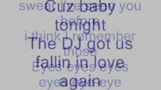 Usher- DJ got us fallin in love again- lyrics