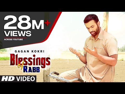 BLESSINGS OF RABB Lyrics - Gagan Kokri | Punjabi Song
