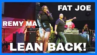 Fat Joe and Remy Ma LEAN BACK Bet Awards Live Performance