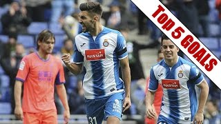 Top 5 Goals | Week 19, La Liga | 2016-2017 Season
