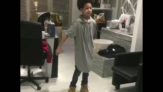 Kid Dancing to Rolex‼️ ITS LITT