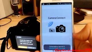 Cómo pasar fotos y videos desde una cámara Canon al móvil + disparos remotos