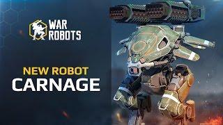 Trailer: medium robot Carnage
