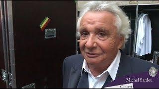 Michel Sardou comme chez lui au Festival de Carcassonne :