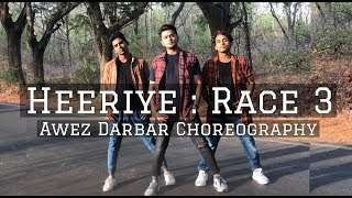 Heeriye Race 3 | Awez Darbar Choreography | Salman Khan, Jacqueline