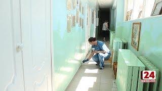 В детских садах ведется косметический ремонт