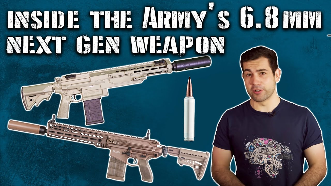 Inside the US Army's NEW 6.8mm Next Gen Squad Weapon