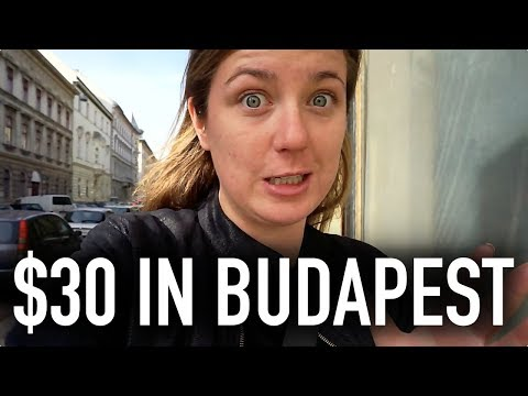 WHAT CAN $30 GET YOU IN BUDAPEST??   Budapest On A Budget Travel Guide