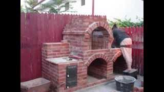 Gratar de gradina din caramida - ziua 5 / Brick BBQ - day 5