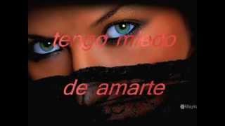 TENGO MIEDO DE AMARTE(ALVARO TORRES)