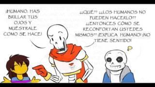 El brillo de los esqueletos - Fandub Español undertale