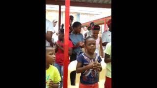 Melo: Tembisa Welfare children sing Moya wa ka o re e (My soul says yes)