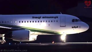 Iraqi Airways Airbus A320│Germany, Berlin-Tegel TXL│18.11.16