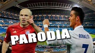 Real Madrid vs Bayern Munich 4-2 PARODIA (Cancion Nicky Jam - El Amante)