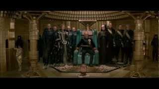 The Emperor visits Baron Harkonnen