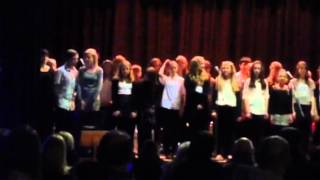 Izzy Xmas 2013 Pop Choir