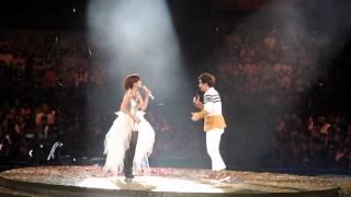 20120909 表哥張智成&表妹梁靜茹跳舞Part 愛的那一頁世界巡回演唱會香港篇
