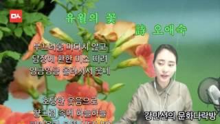 [밑줄긋는여자] 유월의 꽃 - 오애숙