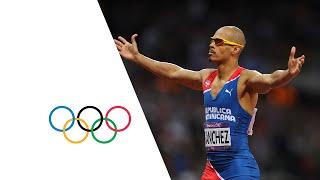 Felix Sanchez Wins 400m Hurdles Gold   London 2012 Olympics