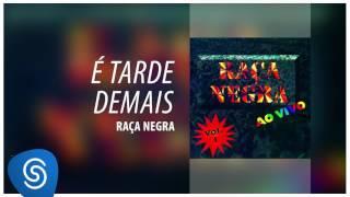 Raça Negra - É Tarde Demais (Raça Negra Ao Vivo, Vol. 1) [Áudio Oficial]