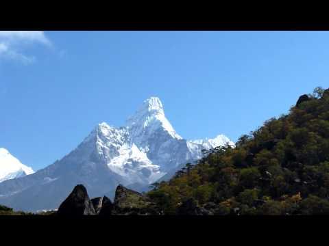 29.09.2010 – Nepal – Priveliste din Khunde, 3840m