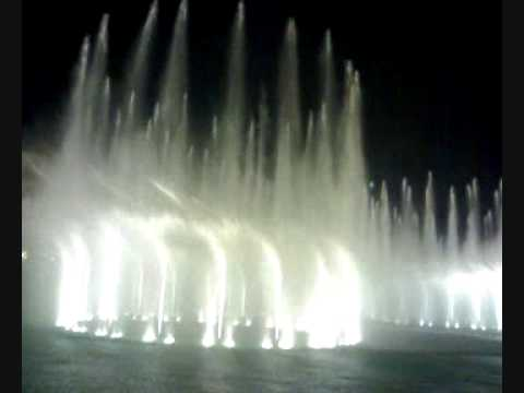 water dance=Dubai