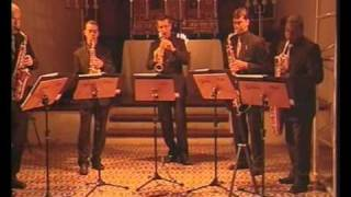 "5asax Quintet saxophone ""Danúbio Azul"""