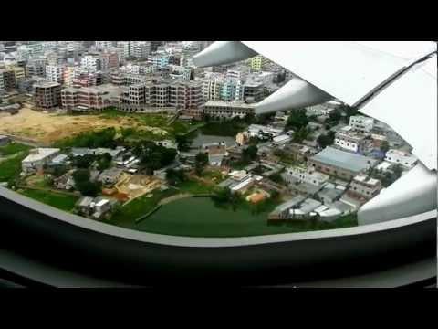 Landing in Dhaka, Bangladesh