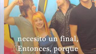 When it rains - Paramore [Espanol]