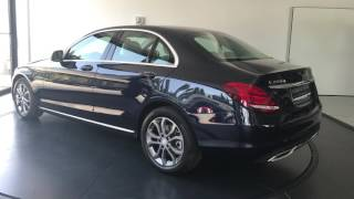 Mercedes Clase C Avantgarde Azul